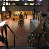 Photo taken at Hillwood Commons - LIU Post by Esraa on 11/30/2015