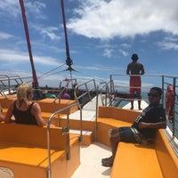 Photo taken at Kepoikai Catamaran by Sampaguita S. on 8/22/2017