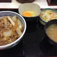 Photo taken at 吉野家 寺田町駅前店 by 近藤 嘉. on 9/9/2016
