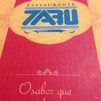 Photo taken at Tabu Restaurante by Luiz Alberto A. on 6/19/2014