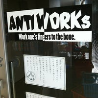 Photo taken at ANTI WORKS by tinacolobockle on 8/9/2014