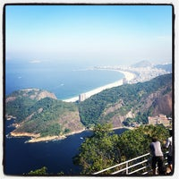 Photo taken at Mirante do Pão de Açúcar by Robson C. on 5/13/2013