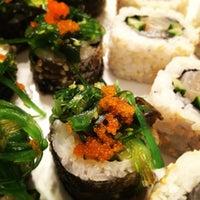 Photo taken at Silk Sushi Bar by Katja M. on 1/6/2013