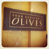 Photo taken at Todd English's Olives by Stephenie H. on 7/22/2013