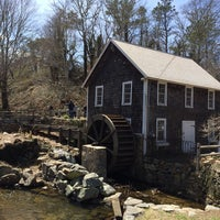 Photo taken at Stony Brook Gristmill & Museum by Ed on 4/20/2014