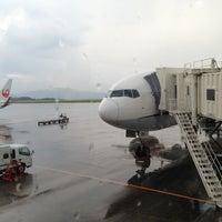 Photo taken at Okayama Airport (OKJ) by wataru r. on 7/22/2013