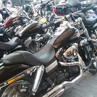 Photo taken at Mabua Harley-Davidson by Febri I. on 1/27/2014