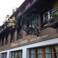 Photo taken at Zum Löwen Unteres Wirtshaus by Max S. on 6/18/2013