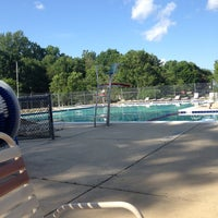 Photo taken at Hadley Farms Pool by Kayleigh A. on 5/24/2014