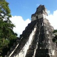 Photo taken at Parque Nacional Tikal by Takahide on 1/1/2013