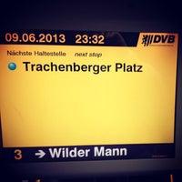 Photo taken at Trachenberger Platz by Oleg A. on 6/9/2013