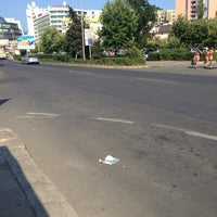 Photo taken at На автобусной Остановке by Dionis on 8/6/2013
