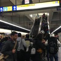 Photo taken at University LRT Station by Seulki on 4/11/2013