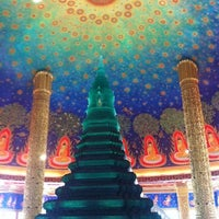 Photo taken at Wat Paknam Bhasi Charoen by ChOn M. on 1/2/2013