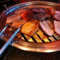 Photo taken at Lum Lum Korean Restaurant by owaandmay c. on 2/22/2013