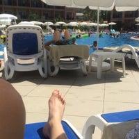 Photo taken at Ephesia Beach Havuz by MEHMET Ç. on 8/18/2015