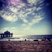 Photo taken at Manhattan Beach Pier by Parker D. on 10/4/2012