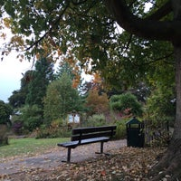 Photo taken at Northernhay Gardens by Julia G. on 10/14/2016