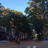 Photo taken at Avinguda de Josep Tarradellas by Julia G. on 11/22/2015