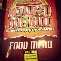 Photo taken at Between the Bun - Burgers, Dogs and More by Scott W. on 7/14/2014