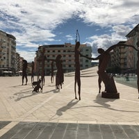 Photo taken at Piazza Carlo Bilotti (Ex Piazza Luigi Fera) by Michael B. on 10/9/2017