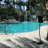 Photo taken at Hyatt Regency Sarasota by Kelser M. on 3/8/2013