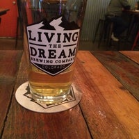 Photo taken at Living The Dream Brewing by Corey C. on 9/29/2017