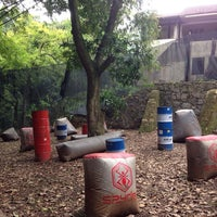 Photo taken at Paintball Tijuca by Silas D. on 10/9/2014