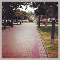 Photo taken at Plaza de Armas by Juan Ignacio on 3/28/2013