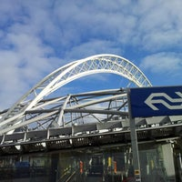 Photo taken at Station Rotterdam Blaak by Willem v. on 2/6/2013