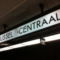 Photo taken at Brussels Central Station by Willem v. on 5/27/2013