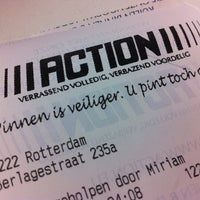 Photo taken at Action by Willem v. on 3/8/2013