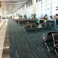 Photo taken at José Joaquín de Olmedo International Airport (GYE) by Miguel G. on 7/10/2013
