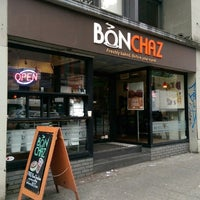 Photo taken at Bonchaz Bakery Cafe by Arnold C. on 5/28/2014