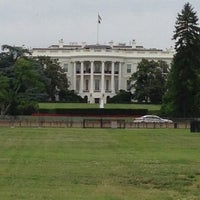 Photo taken at The White House Southeast Gate by Chris R. on 5/29/2013
