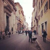Photo taken at Via del Corso by Anya F. on 5/2/2013