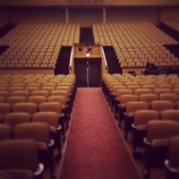 Photo taken at Lisner Auditorium by Reese B. on 5/16/2013