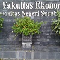 Photo taken at Universitas Negeri Surabaya (UNESA) by Irwan Adimas G. on 5/31/2014