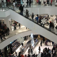 Photo taken at CF Pacific Centre by Peter K. on 12/26/2012