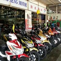 Photo taken at Kheng Seng Motor by Ks Low on 1/19/2014
