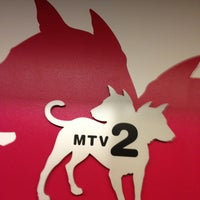 Photo taken at MTV2/mtvU by kathi p. on 3/4/2013