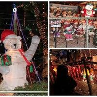 Photo taken at Oakdale Christmas House by Bernadette C. on 12/25/2014