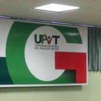 Photo taken at Universidad Politécnica del Valle de Toluca by CARLOS F. on 5/8/2014