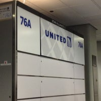Photo taken at Gate 78A by Rob P. on 12/16/2012