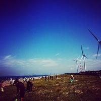 Photo taken at 西ノ浜海岸 by Hidemasa S. on 9/21/2014