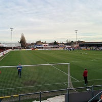 Photo taken at The London Borough of Barking & Dagenham Stadium by Brad E. on 1/25/2014