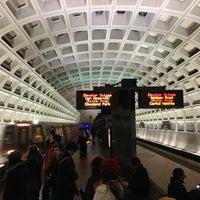 Photo taken at Capitol South Metro Station by JaimeT on 2/7/2013