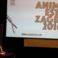 Photo taken at Zagrebački plesni centar (Zagreb dance center) by Burcu on 6/8/2016