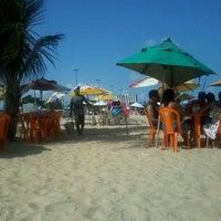Photo taken at Praia do Recife by Jonathan A. on 12/25/2013