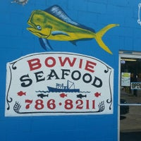 Photo taken at Bowie Seafood by Ashley O. on 6/15/2014